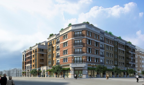 40 Park, a new luxury condominium community overlooking the Morristown Green in Morristown, NJ