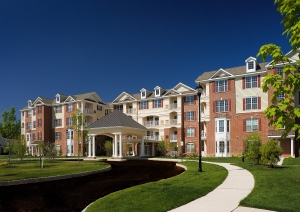 Kalian's Carriage Park at Lawrence offers active adult condominium homes and resort-style amenities
