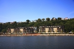 Henley on Hudson, the distinctive collection of European-inspired homes located within Port Imperial on the Hudson Riverfront in Weehawken, N.J.