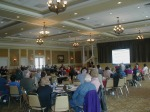 More than 125 prospective buyers turned out at Greenbriar Stonebridge for Lennar's Homebuyer Seminar