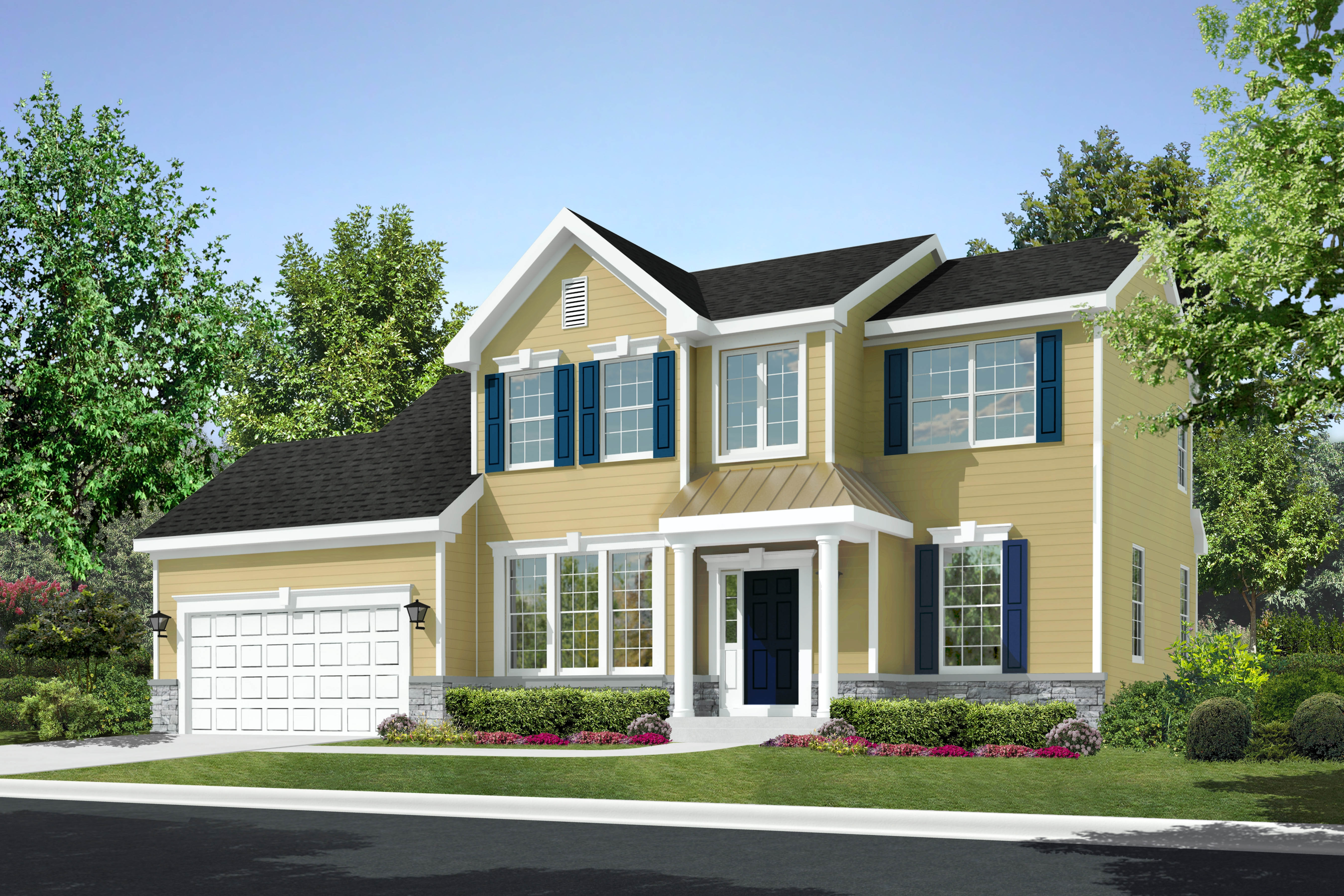 The manors at rolling hills set to debut this spring with for Family home builders