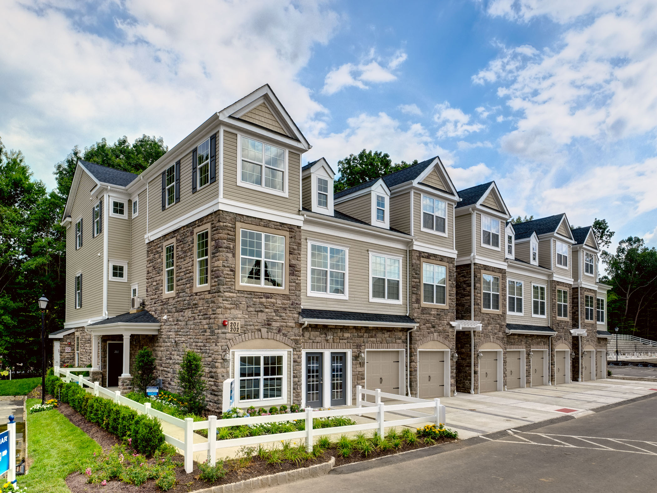 Townhomes in coveted building one location now available for Coventry home builders