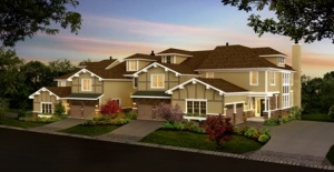 A02423_HornRock Dusk Townhomes_Building 4_130514