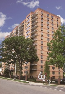 Portfolio of 18 condominium residences at 60 Parkway Drive East, a 15-story high-rise building in East Orange, NJ