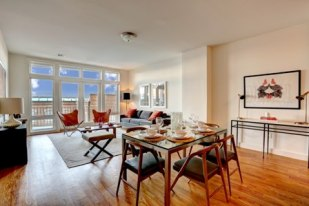 SEE S.I.: Meadow Partners' new Accolade building — in the gated Bay Street Landing complex — is set to open in the fall with prices ranging from $325,000 to more than $1 million. Photo: Erik Freeland