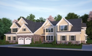 Greenbriar Falls-Building 7-3 Units-elev