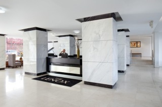 The Lobby at The Lenox