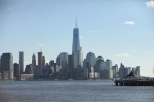 A view of the New York City skyline from the Hudson River Waterfront Walkway in Hoboken./Photo: Bobby Oliver