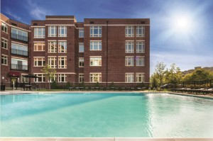 THE M FEATURES AN OUTDOOR POOL ALONG WITH OTHER OUTSTANDING AMENITIES