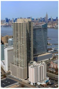 Monaco, a luxury high-rise rental community in Jersey City, is one of the properties participating in the pilot program.