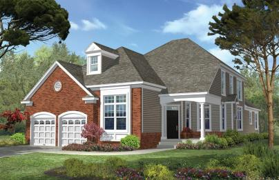 Single-family home at Premier Development's Gateway at Royce Brook