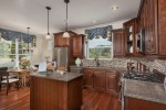 Model Kitchen at Baker Residential's The Meadows at Panther Valley