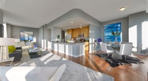 New Model Penthouse at Trio in Palisades Park, NJ