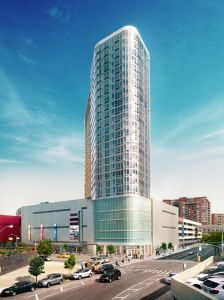 Exterior Rendering of The Alexander at Rego Center