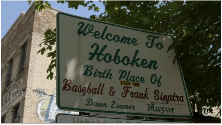 CLICK FOR NY TIMES VIDEO TOUR OF HOBOKEN, NJ
