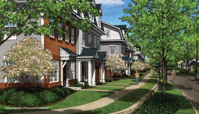 jmf properties launches preview opening of estling village