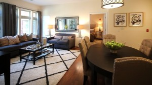 TWO-BEDROOM MODEL HOME AT THE M AT ENGLEWOOD SOUTH