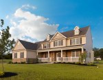 A MODEL HOME AT STERLING ESTATES IN LOWER NAZARETH, PA.