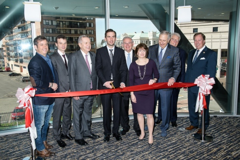 Marriott Residence Inn Jersey City Ribbon Cutting
