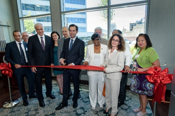 3 Journal Square Ribbon Cutting