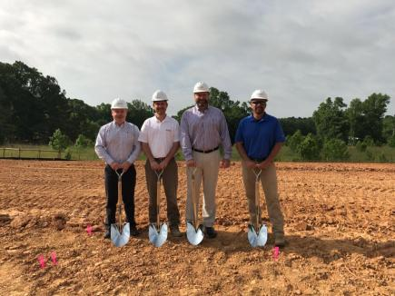 Yates Pnd Ground Breaking