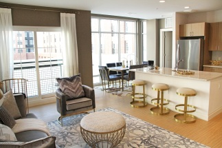 The Harper at Harmon Meadow Two Bedroom LR