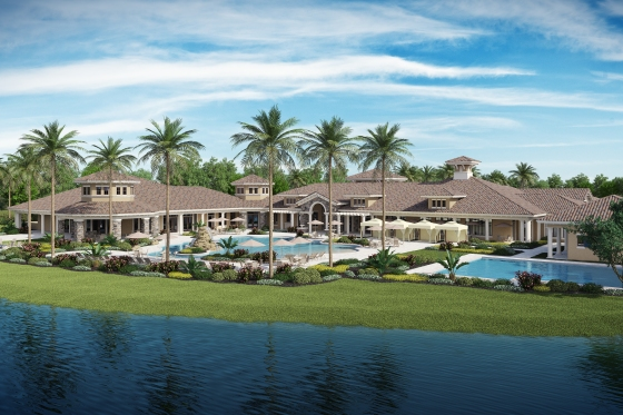 # 2 Four Seasons clubhouse rendering
